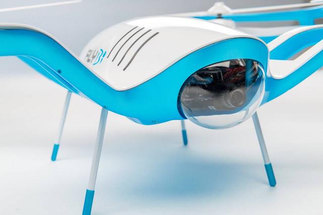 FLYBi Jadi Drone Pertama dengan Virtual Reality Headset