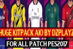 Huge Kits Pack Season 2020-2021 AIO - PES 2017