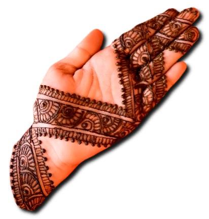 Simple Mehndi Design Latest