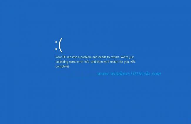 How to stop flickering screen windows 8 1
