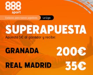 888sport Superapuesta Liga Granada vs Real Madrid 13 julio 2020