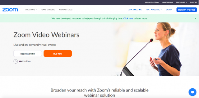 Best webinar software zoom for online meeting, conference, events