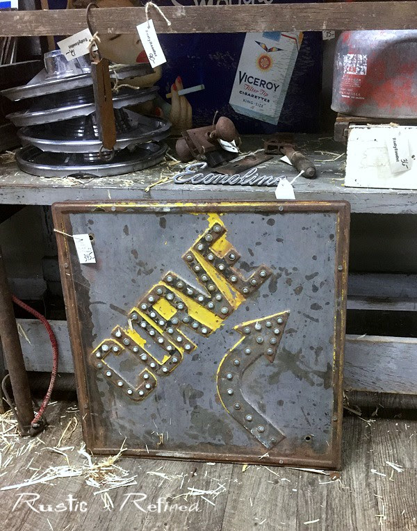 Shopping for antiques or rusty junk treasures