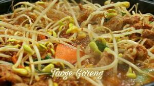 Resep Taoge Goreng