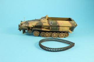 Article détaillant le montage du Sdkfz 251/1 de Tamiya au 1/35.
