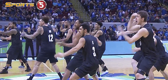 New Zealand's Haka Dance Against Gilas Pilipinas (VIDEO) 2016 FIBA OQT in Manila