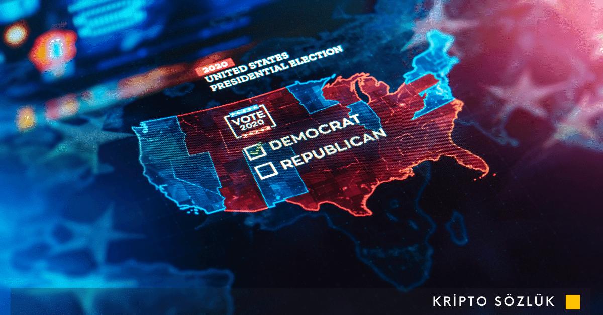 2020 ABD Başkanlık Seçimi'nin sonuçları blockchain üzerinde yayınlanıyor