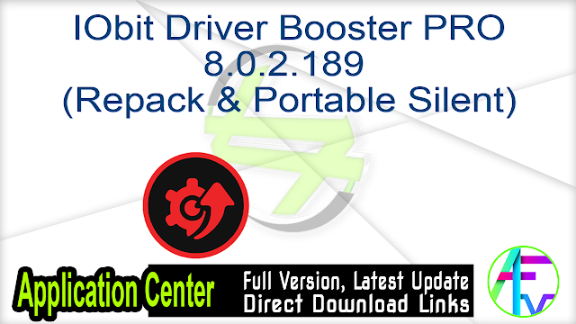 IObit Driver Booster PRO 8.0.2.189 + (Repack & Portable Silent)