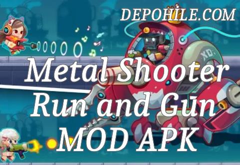 Metal Shooter Run and Gun v1.100 PARA ve Yükseltme Hileli Apk