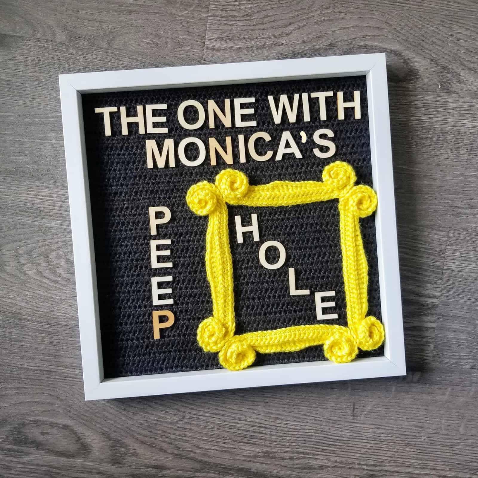Monica's Peephole FREE Crochet Pattern