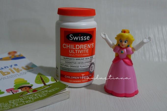 Swisse Children's Ultivite Multivitamin Anak Yang Enak Rasanya