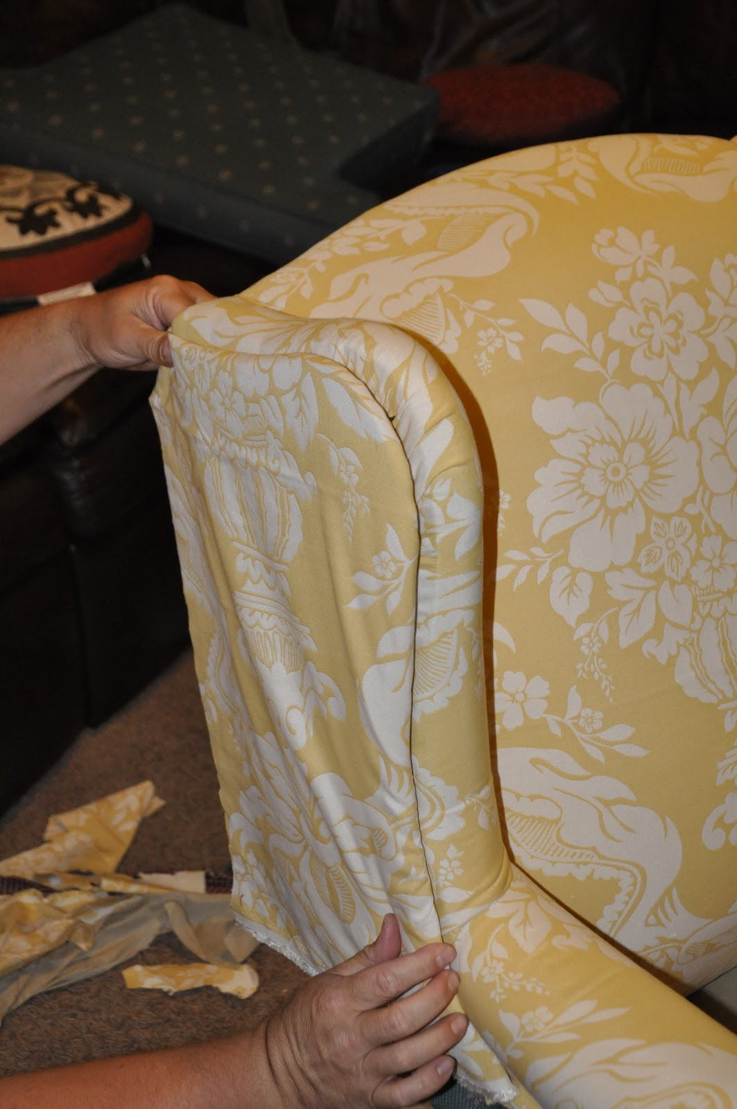Upholstering A Chair Eames Dining Wing Back Upholstery Tips
