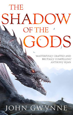 The Shadow of the Gods by John Gwynne book cover