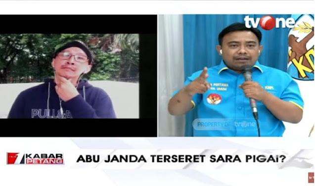 Jika Abu Janda Tak Ditangkap, Haris Pertama Mundur dari Ketua KNPI