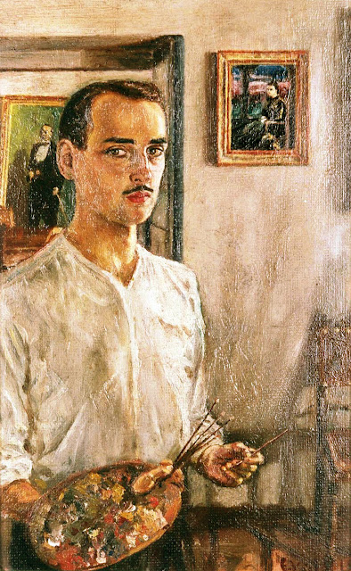 Enrique Vidal Abascal, Maestros españoles del retrato, Retratos de Enrique Vidal Abascal, Pintores españoles, Pintores de Oviedo, Paisajistas españoles