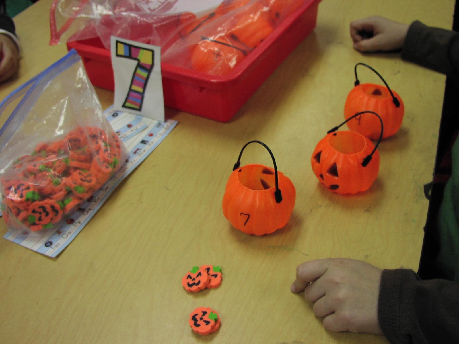Keen On Kindergarten October Math Work Stations