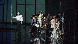 Scene from Das Rheingold, The Royal Opera 2018