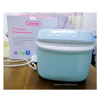 Lunavie Portable UV Sterilizer & Dryer, Portable Sterilizer, lunavie bottle sterilizer, autumnz sterilizer and dryer review, baby bottle sterilizer and dryer malaysia, bubbles sterilizer and dryer, best baby bottle sterilizer and dryer, bottle sterilizer malaysia, best bottle sterilizer and dryer, autumnz 2-in-1 electric steriliser & dryer
