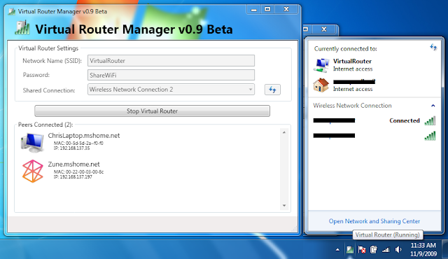 Virtual Router Manager: Jadikan Laptop Sebagai Hotspot