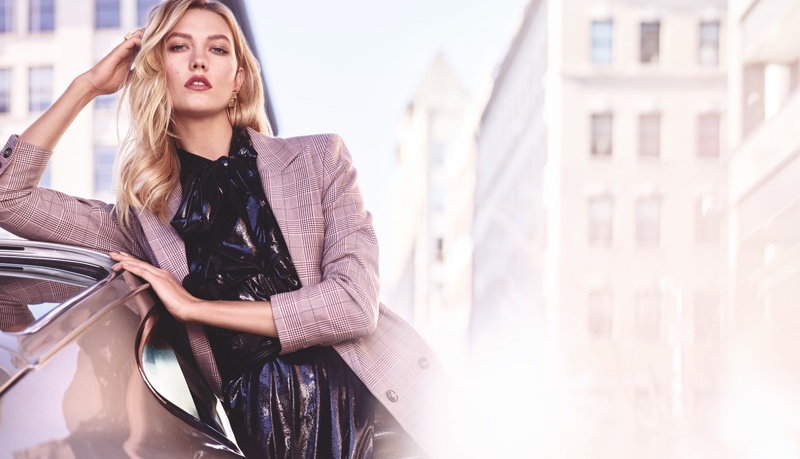 Estee Lauder taps Karlie Kloss for Pure Color Envy – Rebellious Rose campaign