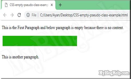 pseudo-class-empty-selector-example