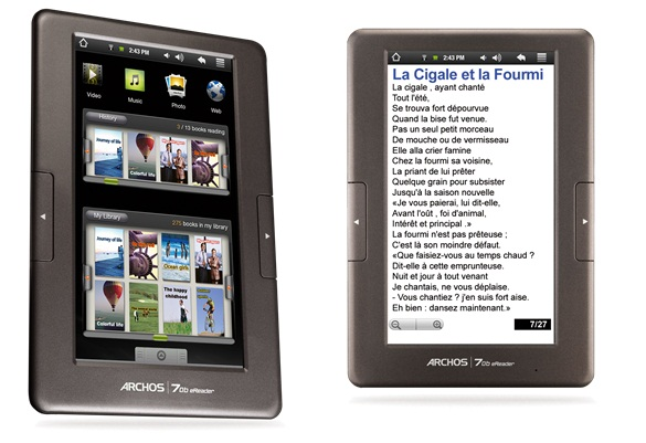 ebook archos 70b