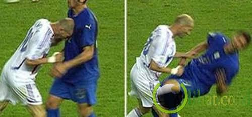 Tandukan Zidane, Prancis vs Italia (2006)