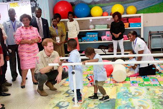 Prince Harry advocates continuing demining and banning use of Land Mines during tour of Angola