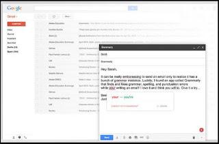 اضافة, التدقيق, اللغوى, والنحوى, لمتصفح, جوجل, كروم, Grammarly ,for ,Chrome