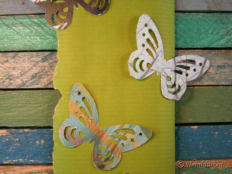 Schmetterlings Deko basteln