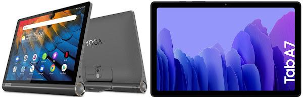 Lenovo Yoga Smart Tab vs Samsung Galaxy Tab A7 10.4 64 GB