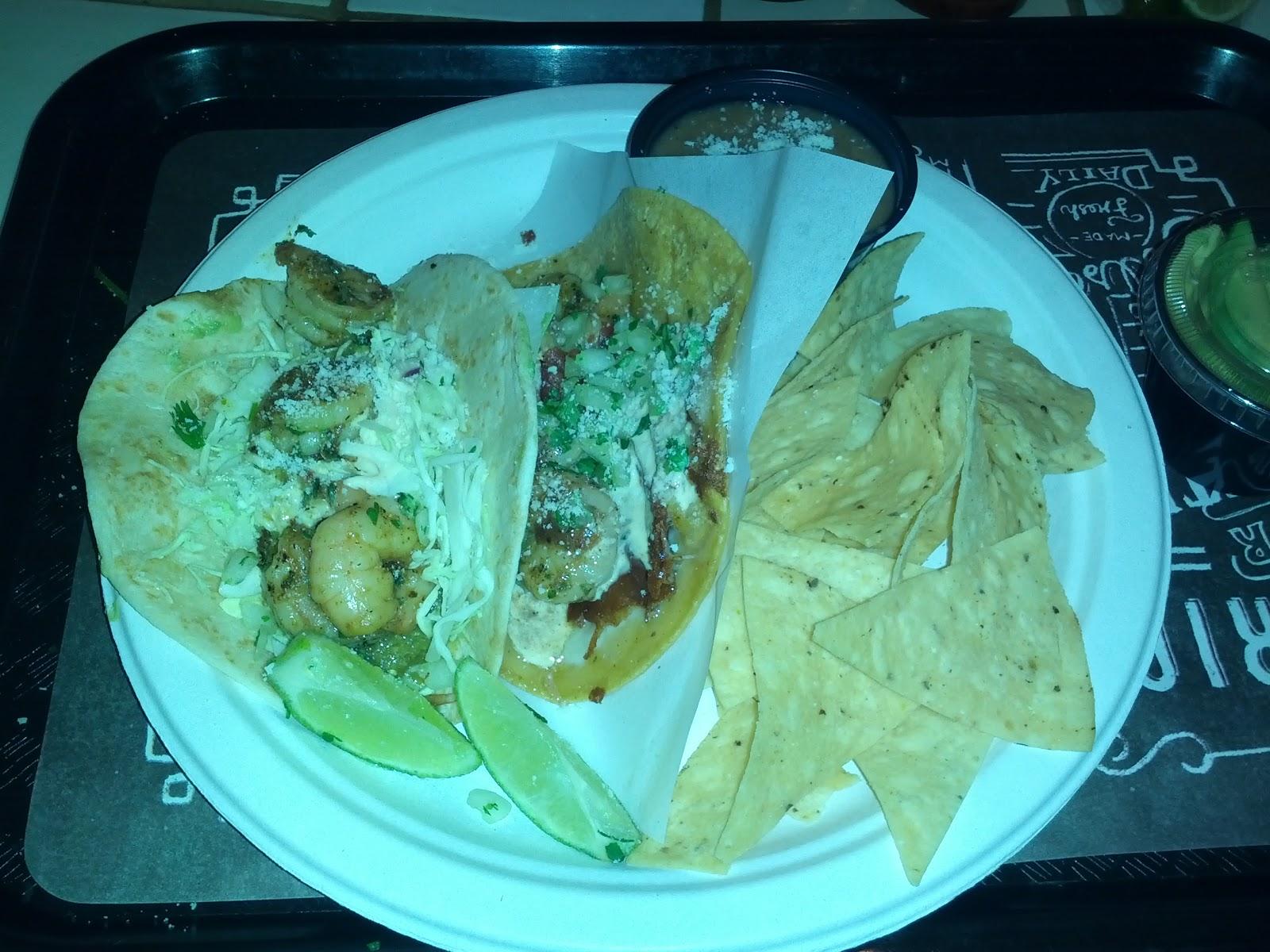 How to make rubios salsa verde shrimp tacos
