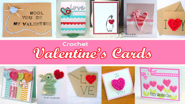 Crochet Valentine's Card, Crochet Valentine's Card inspiration, heart card, crochet heart card, crochet applique card, crochet applique heart card,crochet applique heart valentine's card, crochet applique valentine's card;
