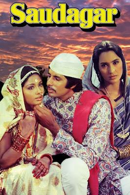 Saudagar 1973 Hindi 720p DVDRip 1.2GB ESub