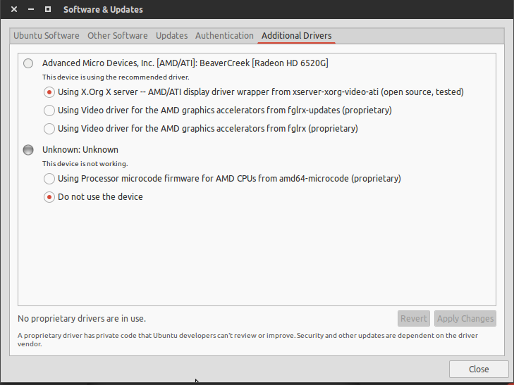 Ubuntu Project : How to install graphics drivers on Ubuntu