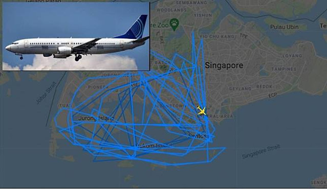 Pesawat Intai Israel Melintasi Wilayah Putrajaya dekat Indonesia, Malaysia Murka