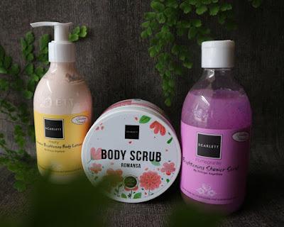 Scarlett - Body Scrub Romansa