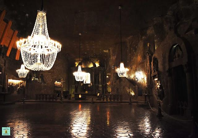 Capilla de Santa Kinga en Wieliczka, Polonia