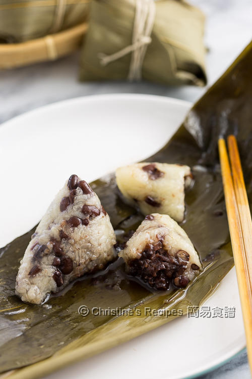 紅豆豆沙糉 Glutinous Rice Dumplings with Red Bean Fillings02
