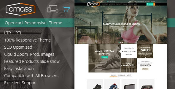 Best Opencart Responsive Theme