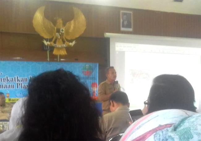Seminar Meminimalisasi Penggunaan Plastik Sudin KLH Jakarta Utara