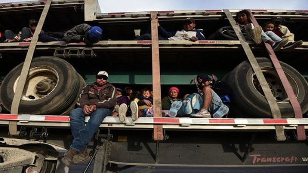 Detienen a 791 migrantes centroamericanos en México