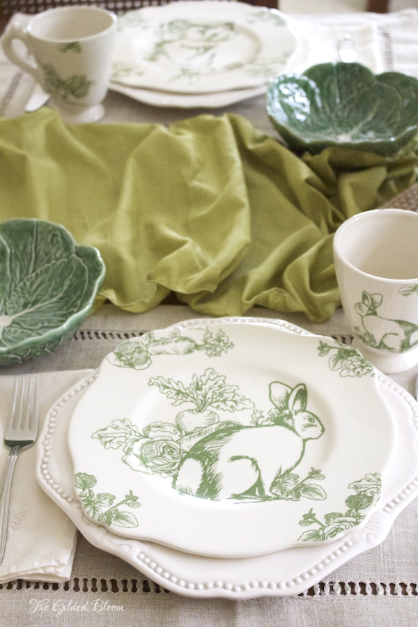 Styling an Easter Table- www.gildedbloom.com