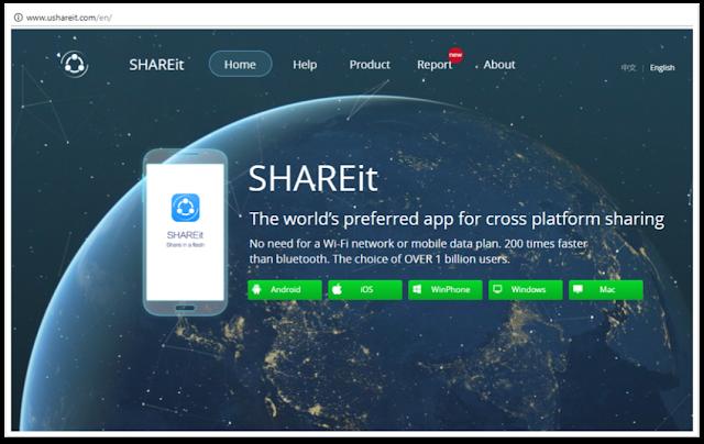 SHAREit yaitu aplikasi yang berfungsi untuk mentransfer file dari satu perangkat ke pera Cara Memindahkan File dari Smartphone ke Laptop Tanpa Kabel dan Kuota, SHAREit for PC