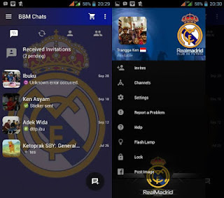 BBM Tema Real Madrid