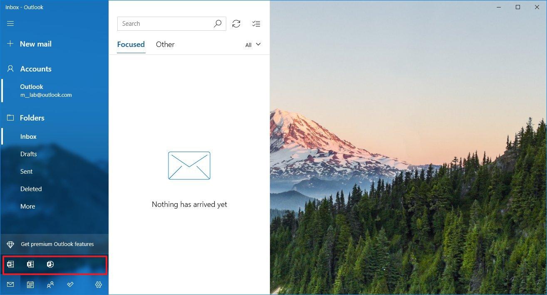 L'App Posta per Windows 10 ottiene l'integrazione con le Web App di Office