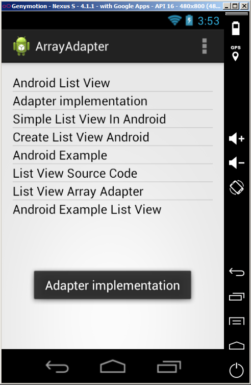 Listview with images and text using simple adapter in android.