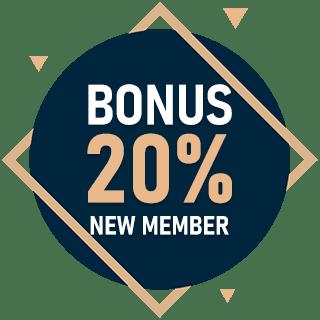 5StarsBet bonus new member 20%