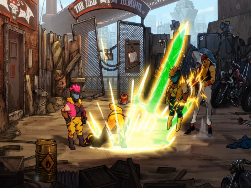 Download Streets of Rage 4 Free Full Game For PC