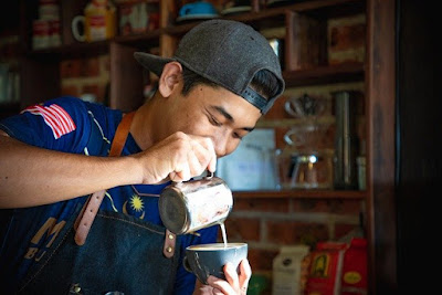 pelatihan barista dan usaha warung kopi